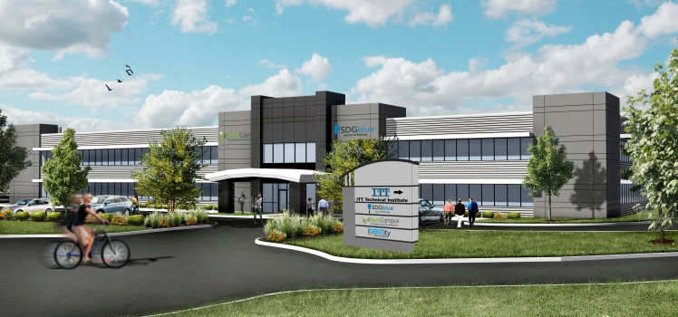 Exterior Rendering with Sign FINAL